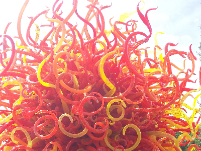 Thursday Chihuly Sculpture