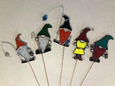 *SOLD OUT* Flower Pot Gnome Stained Glass Workshop